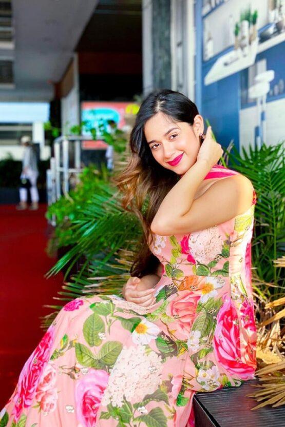Jannat zubair dress Pink 2021 Special