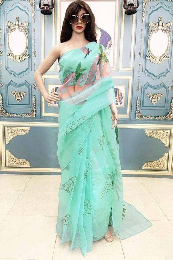 Kareena kapoor kapil sharma show saree (Bebo)