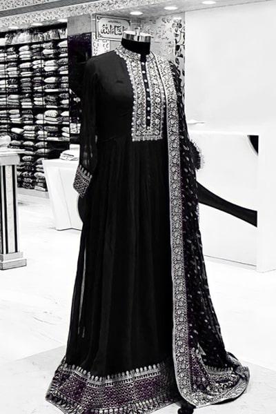 Latest Indian wedding party dresses 2021 Black