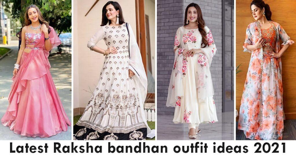 Latest Raksha bandhan outfit ideas 2021 with Price