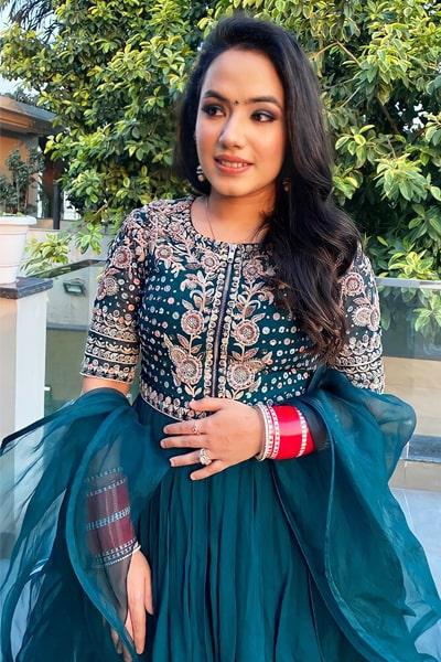 Modern Gharara Sharara dress