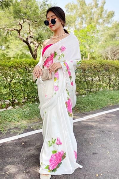 Modern farewell sarees for Teenage girl 2021