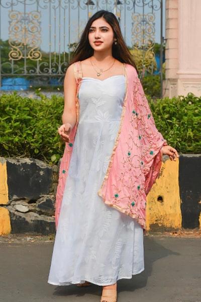 Muskan Sharma dress collection