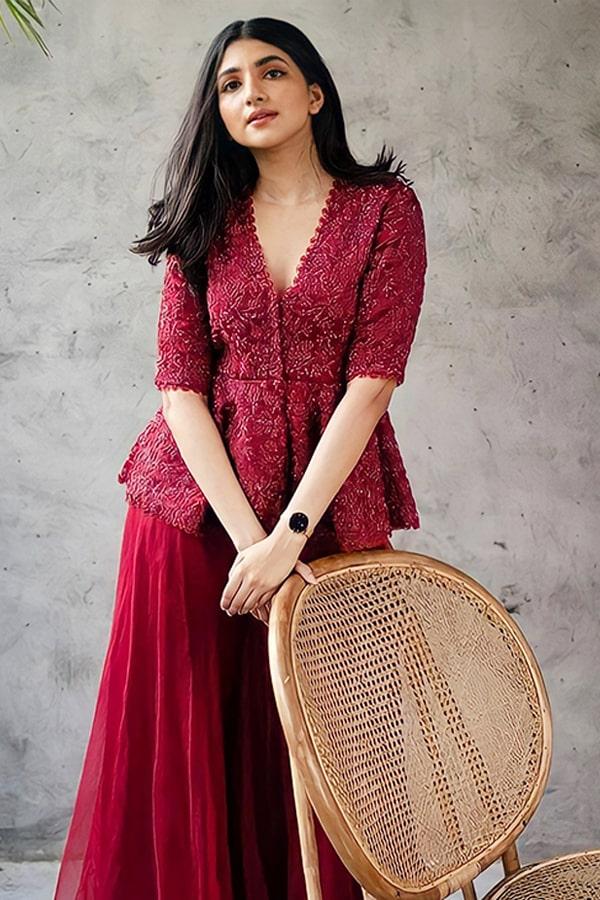 Raksha bandhan special dress for girl 2021 Red