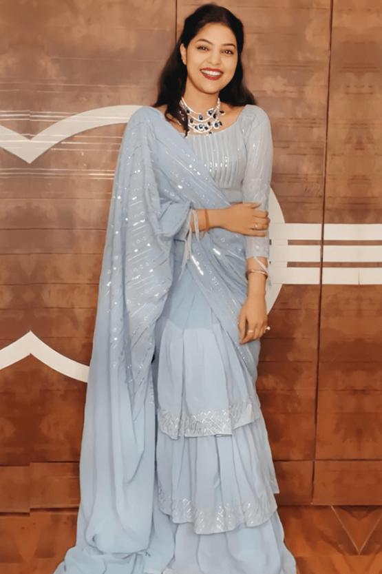 Raksha bandhan special dress for girl 2021 [Saree]