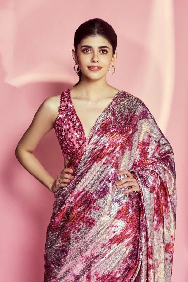 Sanjana sanghi saree in kapil sharma show Buy online