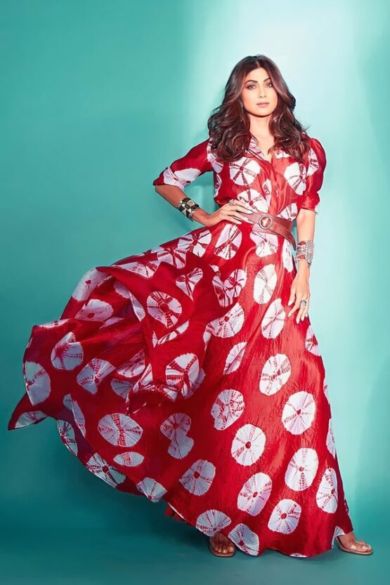 Shilpa shetty Red gown dresses 2021 buy