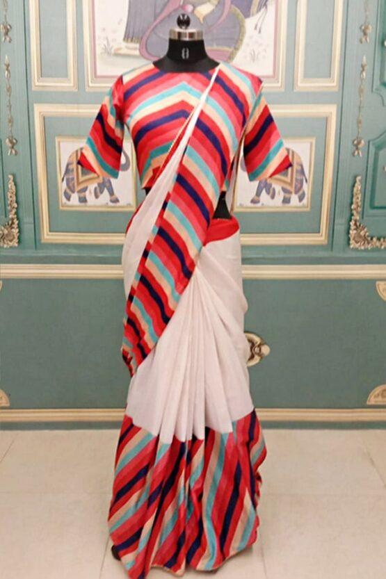 Shilpa shetty in saree look Red 2021