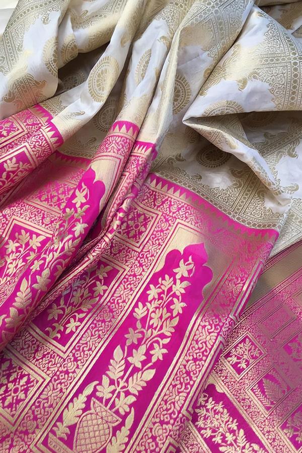 Banarasi saree for bengali marriage