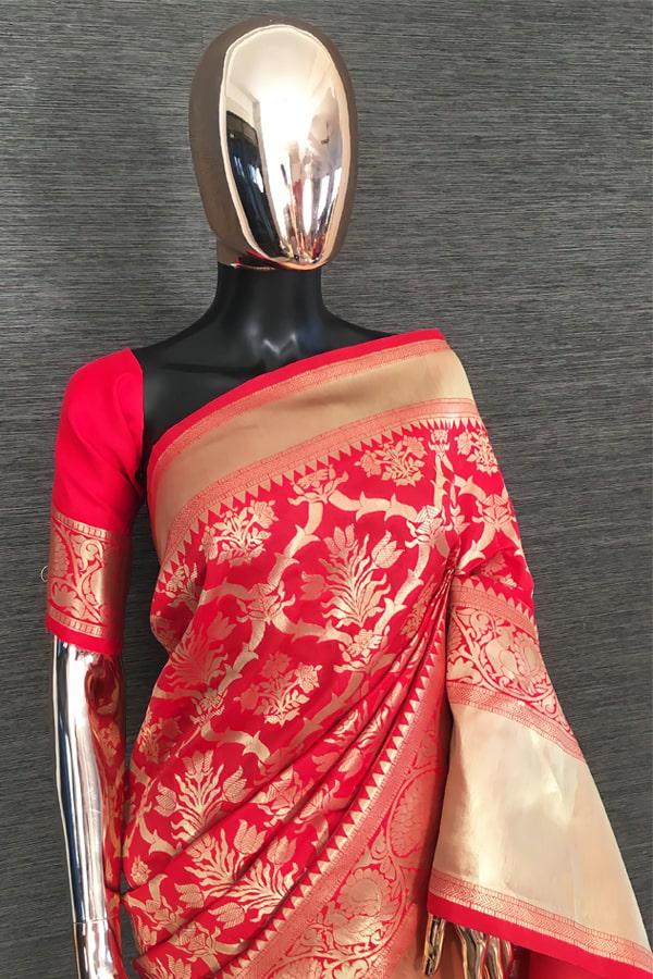 Durga puja Special saree 2021