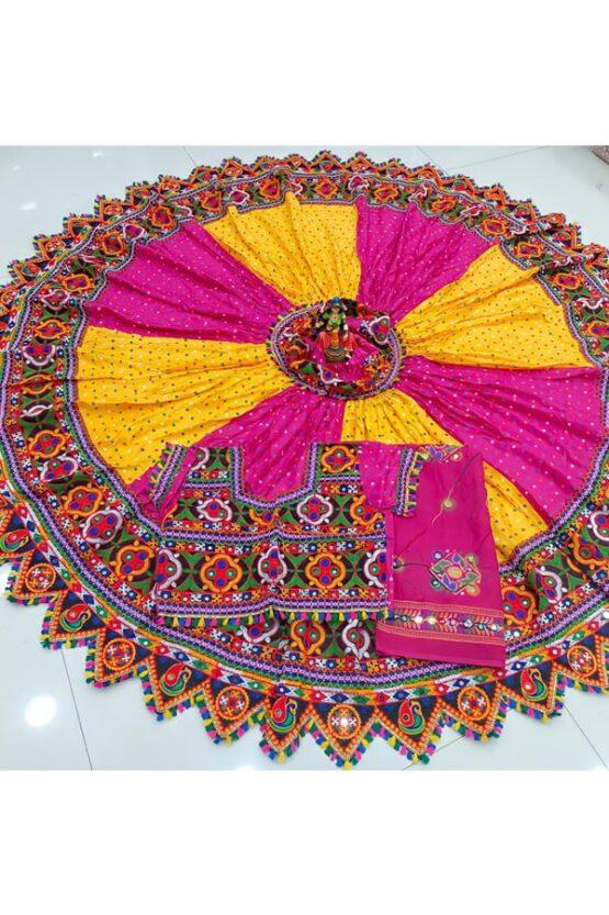 Gujarati chaniya choli navratri 2021 .
