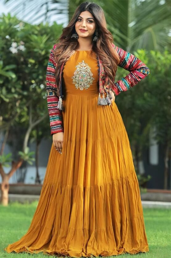Modern gowns for Indian wedding reception 2021