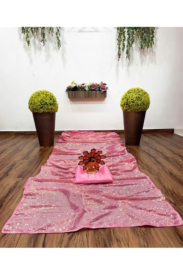 nora fatehi saree online shopping