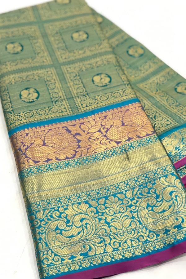 Original kanchipuram silk sarees with price