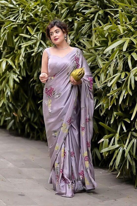 Party wear latest saree design 2021