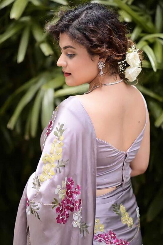Party wear latest saree design 2021 Latest