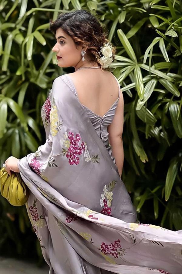 Party wear latest saree design 2021 Latest.