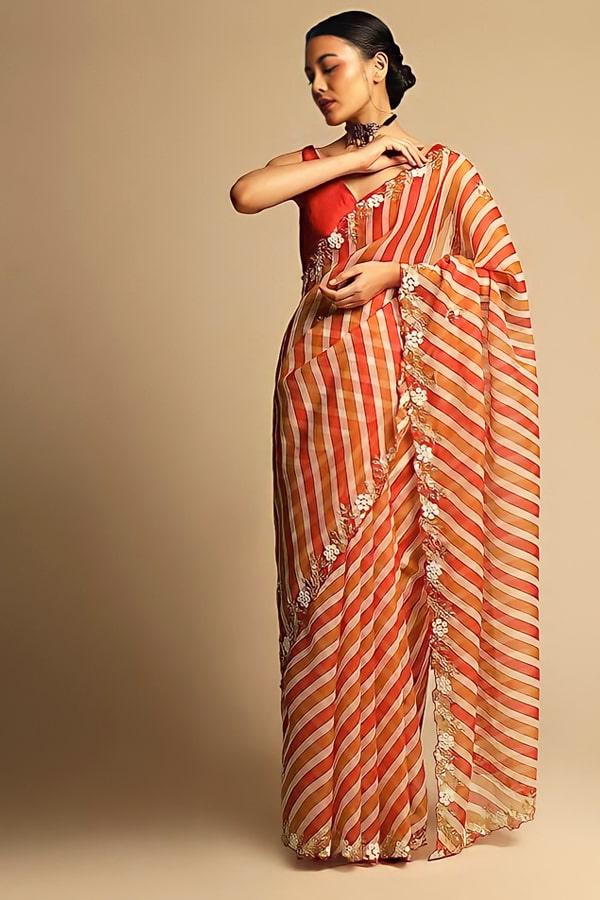 Party wear saree for married girl 2021 Latest