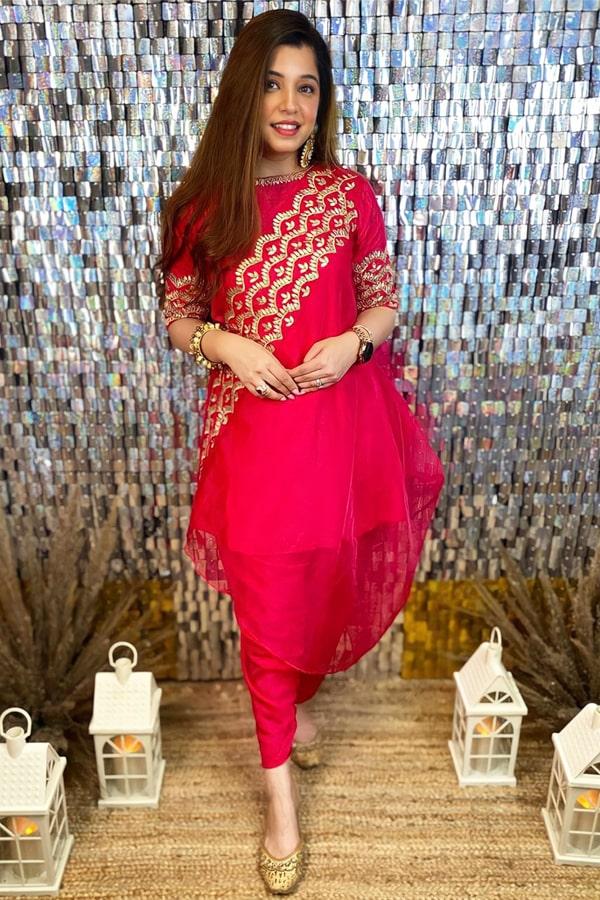 Patiala Red punjabi suit Latest design 2021