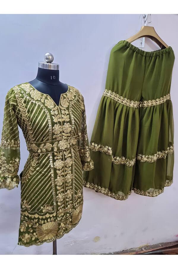 Pooja Hegde Sharara dress Online buy.