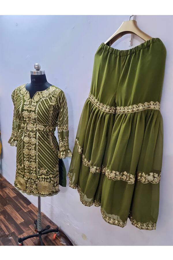 Pooja Hegde Sharara dress Online buy