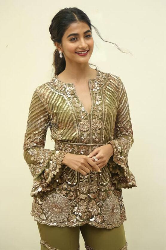 Pooja Hegde Sharara dress Online shopping.
