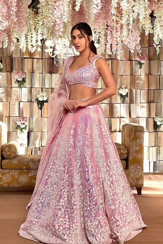 Sara ali khan lehenga buy online Manish malhotra