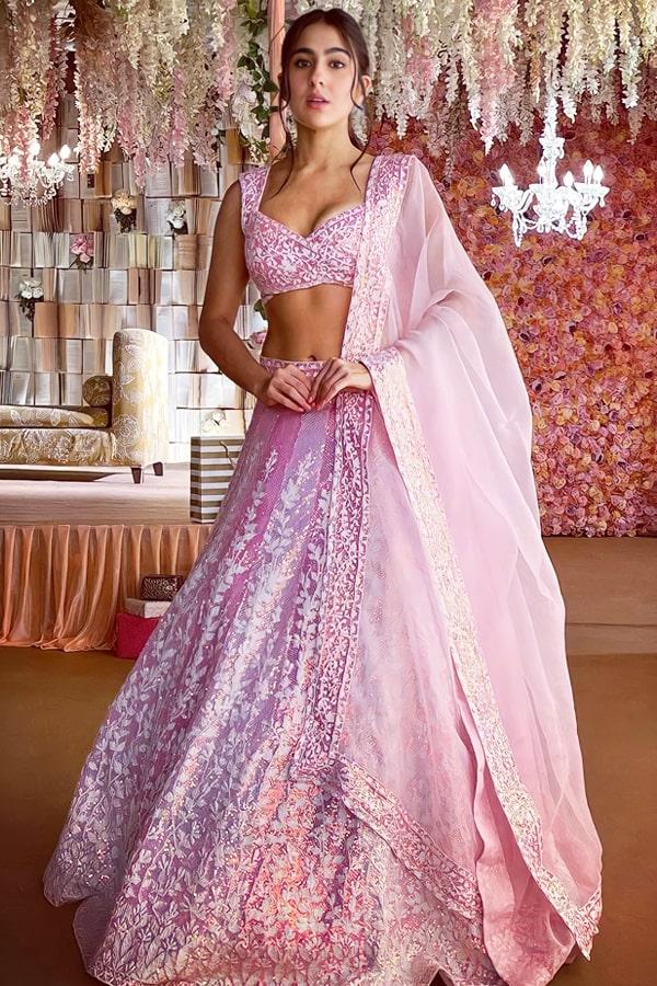 Sara ali khan lehenga buy online Manish malhotra.