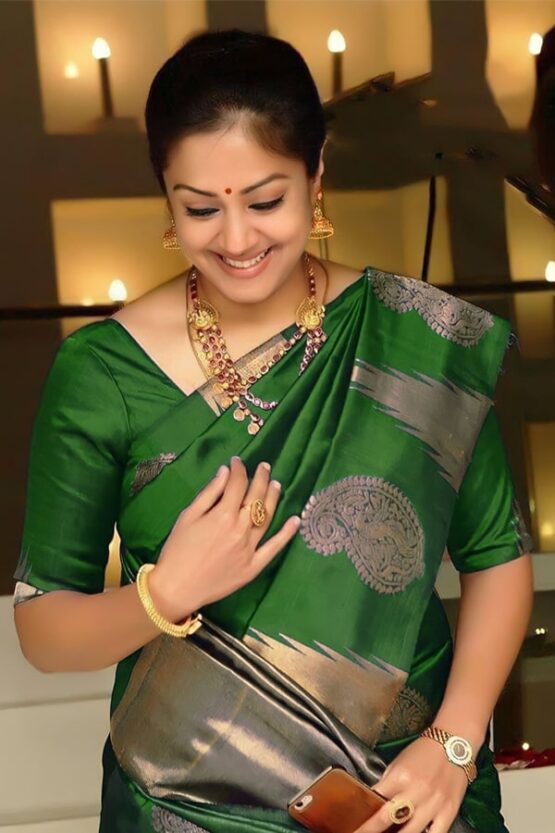 South Indian sarees online shopping green