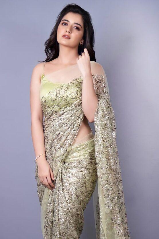 Wedding Reception party wear saree Latest