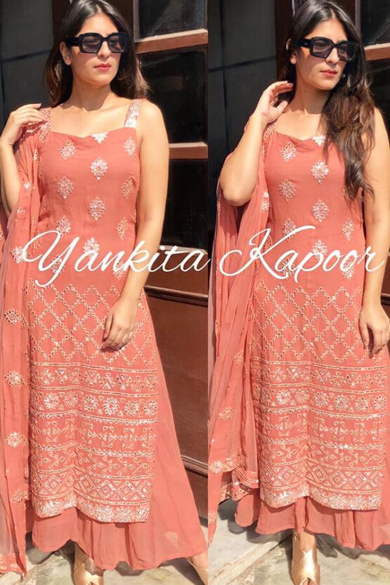 Yankita Kapoor Sharara Plazo suits online 2021 .