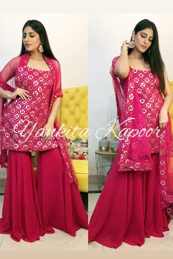 Yankita Kapoor Sharara Plazzo suit online 2021