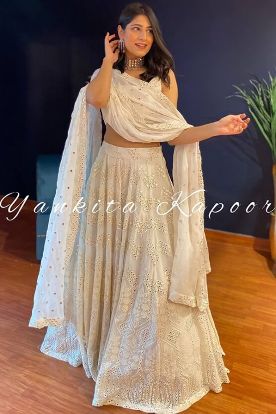 Yankita kapoor lehenga Choli online shopping