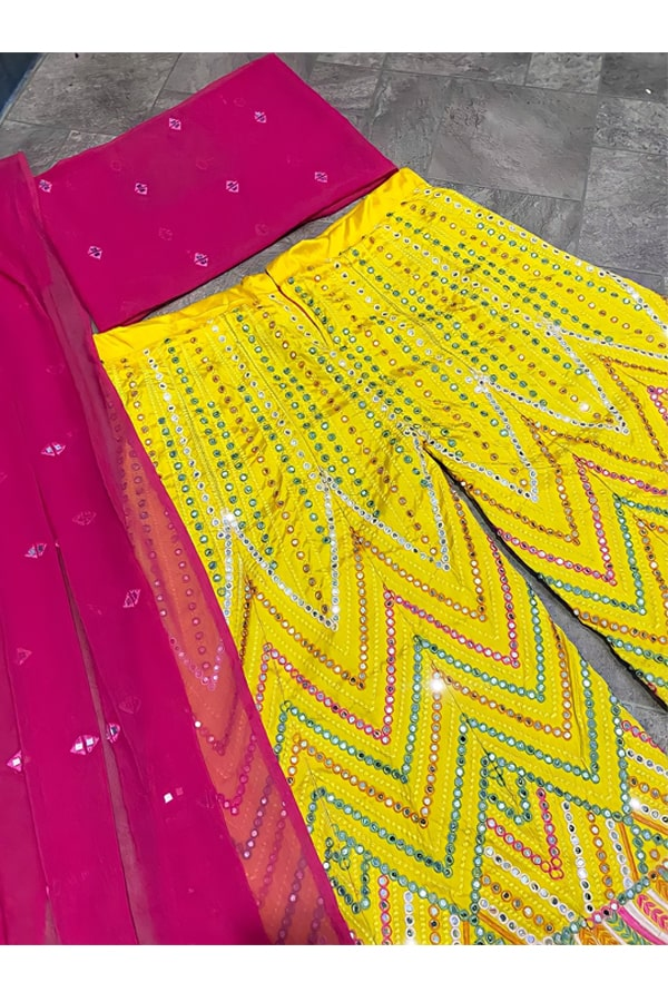 Yankita kapoor sharara plazzo suit Online.