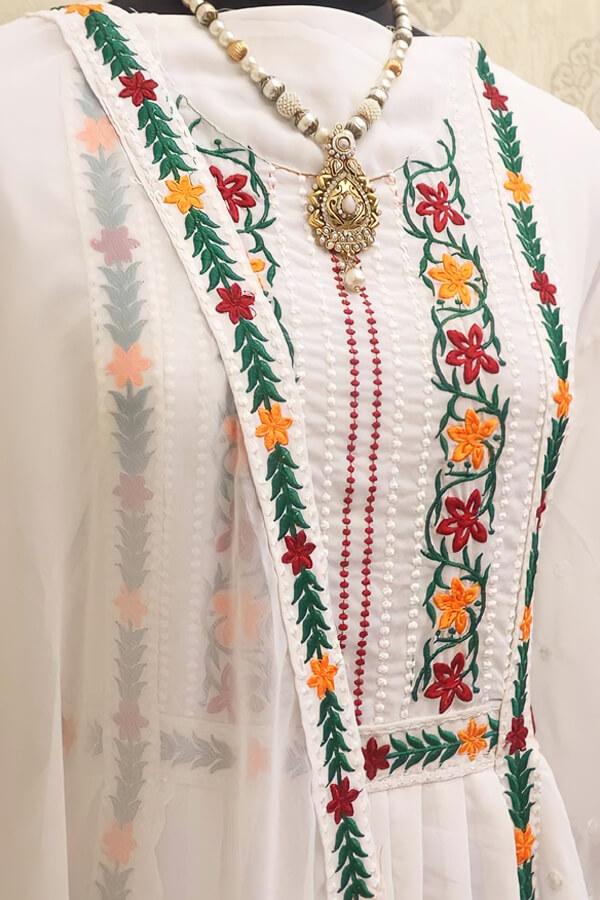 karishma kapoor white suit Dress online buy