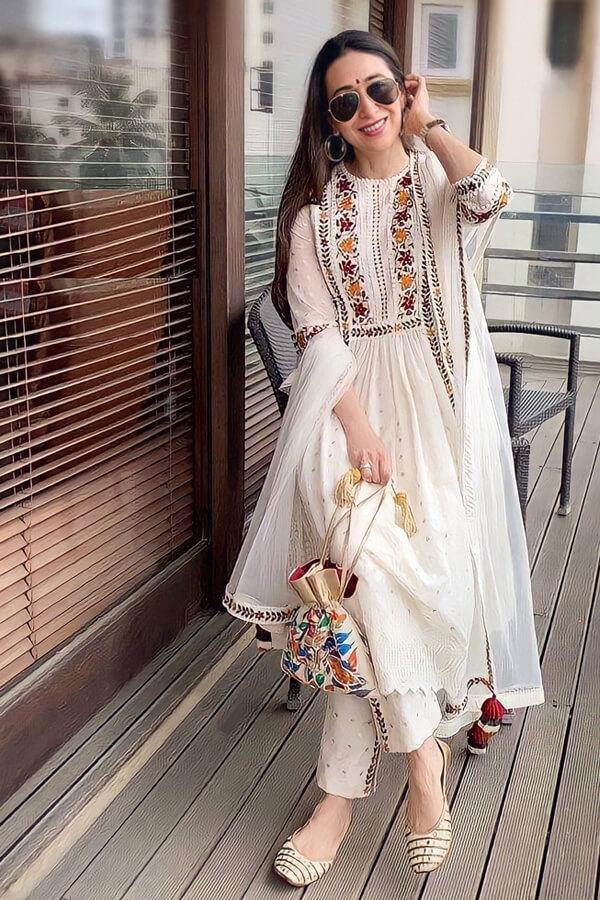 karishma kapoor white suit Dress online shopping