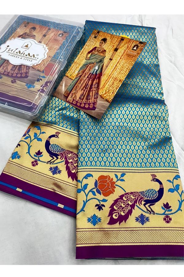wedding marathi nauvari saree