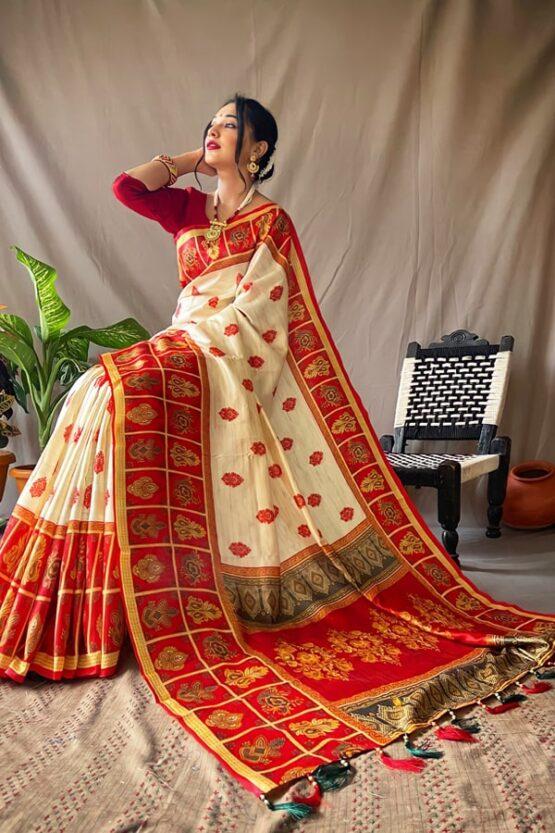 Durga puja ka new saree Collection 2021