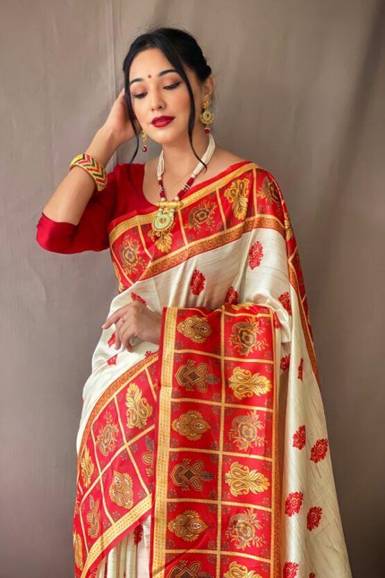 Durga puja ka new saree Collection 2021.