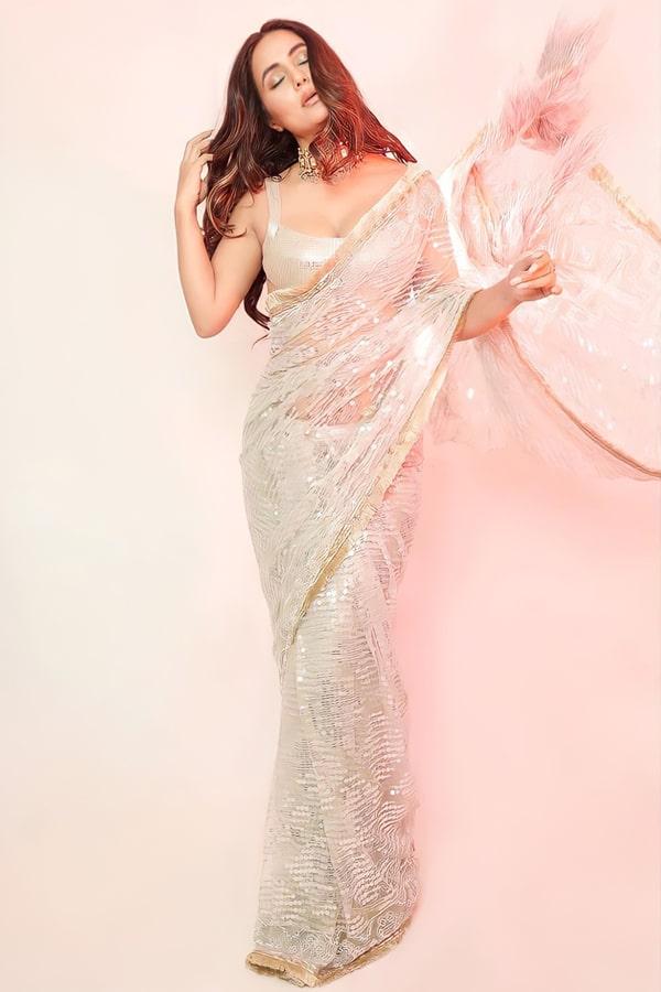 Hina Khan saree online Shopping Sequence