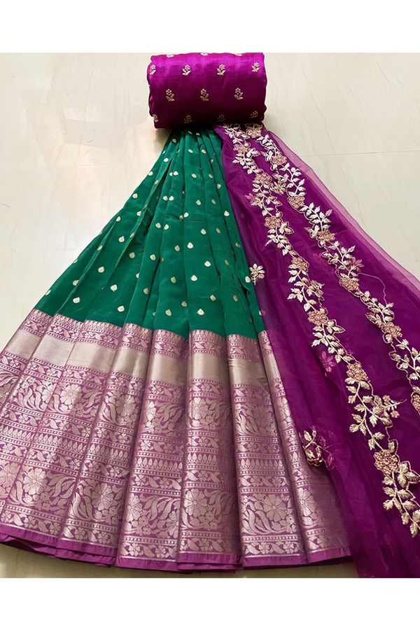 Latest half saree design 2021 with price