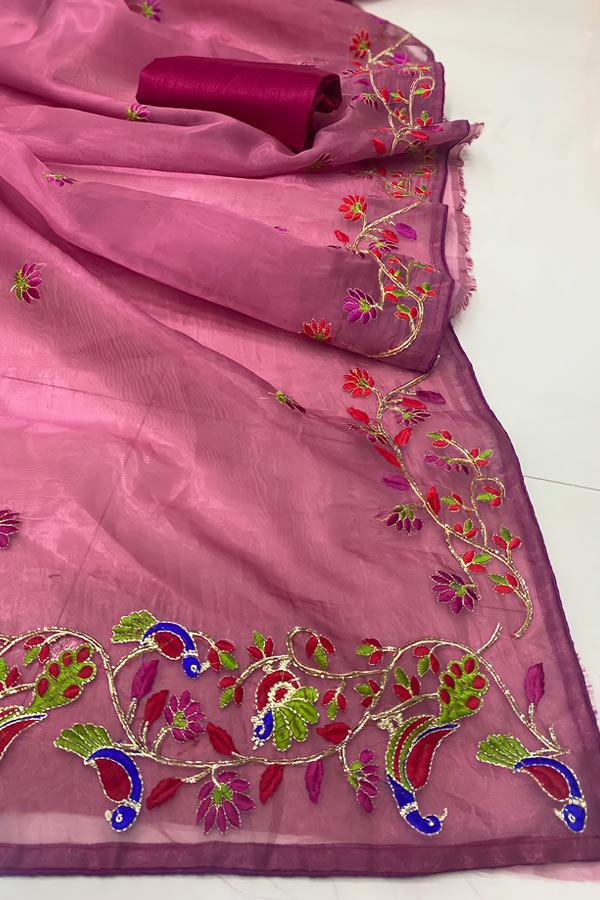 Latest new saree design 2021-2022 (2)