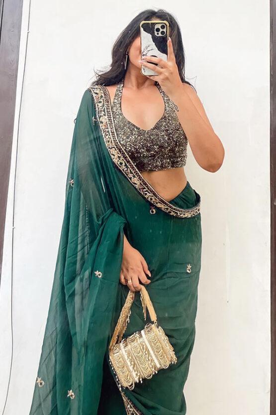 Latest saree designs 2021 Party wear