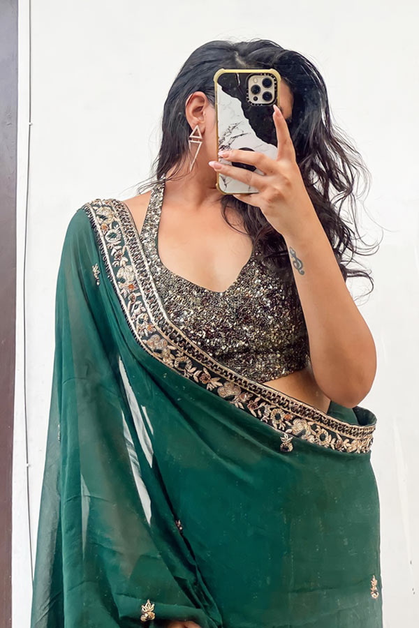 Latest saree designs 2021 Party wear New