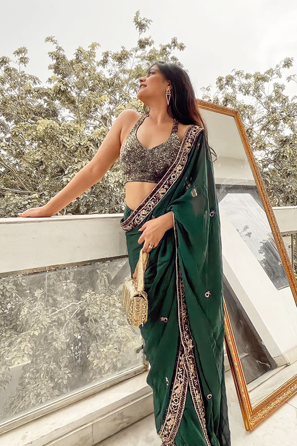 Latest saree designs 2021 Party wear new. 2022