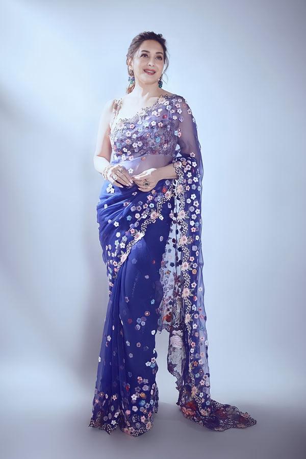 Madhuri dixit saree online shopping