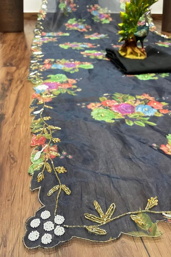 New saree design 2021 Image Party wear.