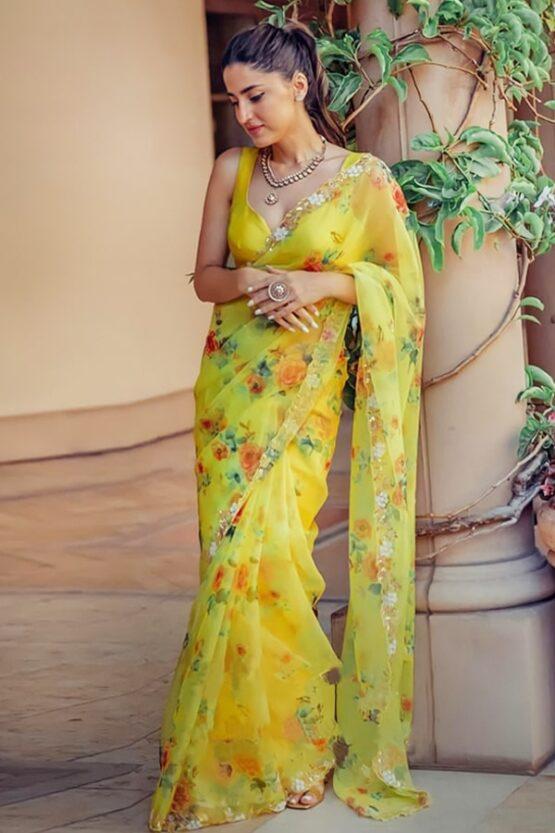 New saree design 2021 Images Party
