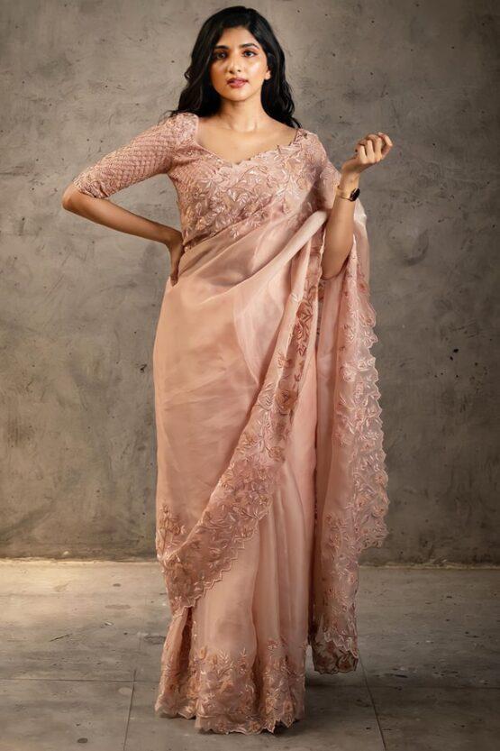 New saree design 2021 party wear Girl