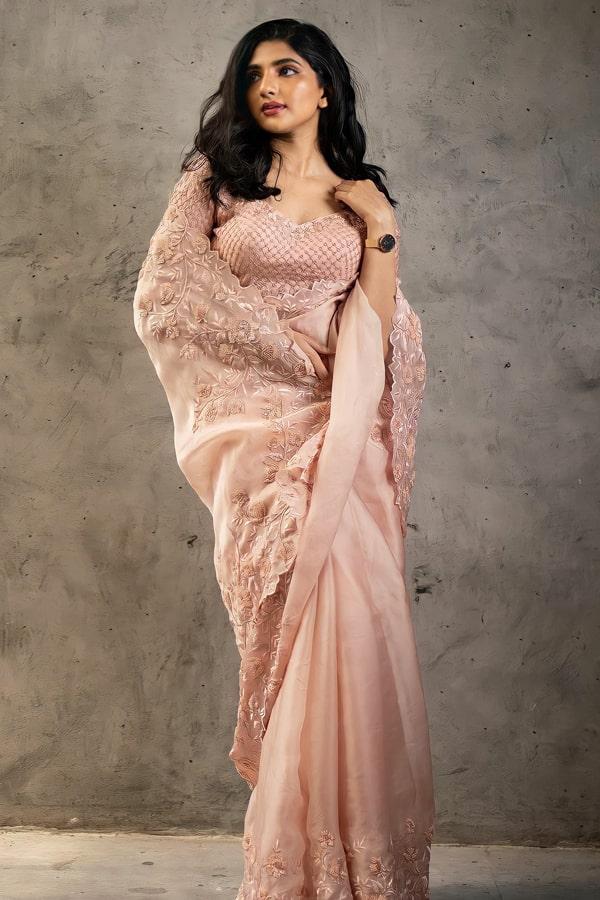 New saree design 2021 party wear